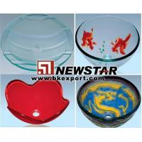 Wholesale Glass Sink (Bathroom Sinks,Glass Bowls,Lavatory Sinks) from china suppliers