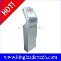 Wholesale Custom design self-service ticketing kiosks with note acceptor,thermal printer and camera from china suppliers