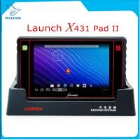 Wholesale Launch X431 PAD II WiFi Auto Code Reader Update Free Online Launch X-431 Pad 2 Universal Diagnostic Scanner from china suppliers