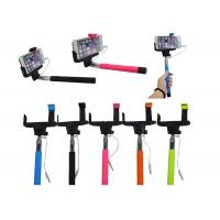 Wholesale Colorful Cell Phone Selfie Stick Handheld Monopod for Camera from china suppliers