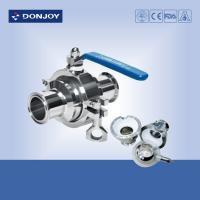 Wholesale SS304, DN32 Clamped non-retention valve,ISO,SMS BPE Welded Connnection from china suppliers