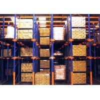 Wholesale Cold Roller Steel Drive In Pallet Racking Heavy Duty 1000-4000kg/Level For Warehouse from china suppliers