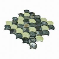 Wholesale Wall Tiles, Sparkle with Pure Color Mixture, Ideal as Crystal Glass Mosaic from china suppliers