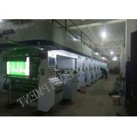 Computer Color Register Rotogravure Printing Machine Max Working Speed 185 m/min Solvent - based