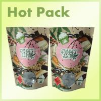 Wholesale Kraft Paper Laminated Aluminum Foil Lined Packaging Bags , Valve Sealed Coffee Bags from china suppliers