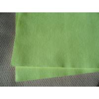 Wholesale Soft Green Non Woven Cloths / Non Woven Polyester Fabric Isotropic Strength from china suppliers