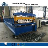 Wholesale Buiding Material Big Wave Steel Corrugated Roof Sheet Roll Forming Machine from china suppliers