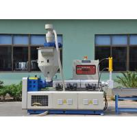 Wholesale 3 In 1 Conical Single Screw Plastic Recycling Machine , Durable Pp Recycling Machine from china suppliers