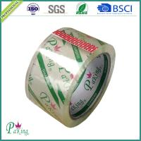Quality 48mm BOPP Super Clear Transparent Carton Packing Sealing Tape for sale