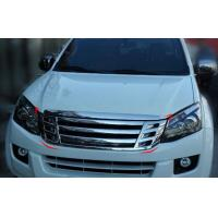 Wholesale ISUZU D - MAX 2012 2013 2014 2015 2016 Front Modified Chromed Car Grilles from china suppliers