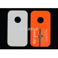 Wholesale Fashional Jewelry Silk Screen Plastic Luggage Tags With 350GSM Paper from china suppliers