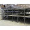 Buy cheap Epoxy Powder Coated 2-Layer Industrial Mezzanine Floors For Warehouse Use Mezzanine from wholesalers