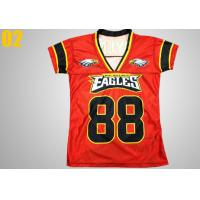 Wholesale Nylon Lightweight Sublimated Sportswear , Personalized Custom Sublimated Rugby Jersey from china suppliers
