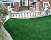 Wholesale Evergreen/ green Artificial Grass Roof Plastic for swimming pool from china suppliers