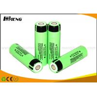 Quality Panasonic NCR18650B lithium ion rechargeable batteries for e cig , CE & RoHS for sale
