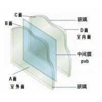 Wholesale 12.76mm PVB film bulletproof tempered safety laminated glass in high security place from china suppliers