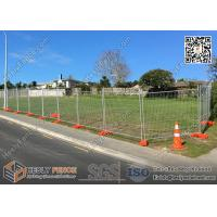 Wholesale OD 38mm Frame Pipe  Temp fence panels 2.1mx3.0m max design zinc coated 100gram/sqm from china suppliers