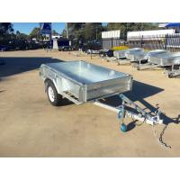 Wholesale 6X4 Hot Dipped Galvanised Single Axle Trailer 750KG from china suppliers
