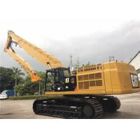 Yellow High Reach House Demolition Boom Q345b+Q550 Material OEM Available