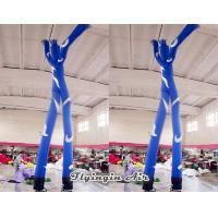 Wholesale Blue Advertising Inflatable Dancer Man with Two Air Blowers for Outdoor from china suppliers