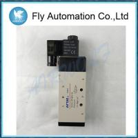 Wholesale 5/2,5/3 way Airtac Pneumatic Solenoid Valves 4V410-15,4V420-15,4V430C/E/P-15 from china suppliers