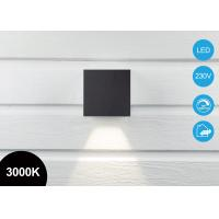 Wholesale IP65 6W Outdoor Cube LED Wall Pack Light With 3-Step Dimmable Driver 3000K Aluminum Alloy from china suppliers