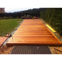 Wholesale Extremely durable cumaru (brazilian teak ) hardwood outdoor decking from china suppliers