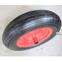 Quality Steel Rim Rubber Wheel (PR3006) for sale