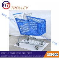 Wholesale Customized Four - Wheeled Plastic Shopping Cart With Baby Chair 165 Liters from china suppliers
