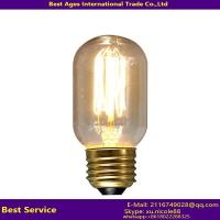Wholesale classics vintage industrial golden edison E27 light bulb from china suppliers