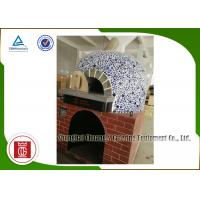 Wholesale Napoli Style Italy Gas Pizza Oven Lava Rock Gas Heating Electricity Saving from china suppliers