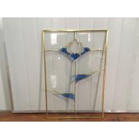 Wholesale Stained Kitchen Cabinet Glass Insulated / Bevelled / Polished Glass from china suppliers
