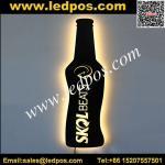 Wholesale LED Bottle Shape Illuminated Sign from china suppliers