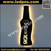 Wholesale LED Bottle Shape Illuminated Sign from china suppliers