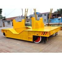 Wholesale Large platform self propelled rail transport trailer with steel plate from china suppliers