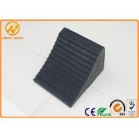 Wholesale Vehicle Garage Parking Lot Rubber Wheel Stopper , Heavy Duty Truck Wheel Stopper from china suppliers