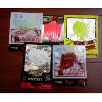 Wholesale Rubber Fishing Lure Pouches Small Clear Plastic Bags Anti Corrosion Feature from china suppliers