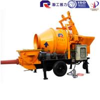 Wholesale price of electric portable concrete mixer pump with high quality, self loading concrete mixer pump with good price from china suppliers