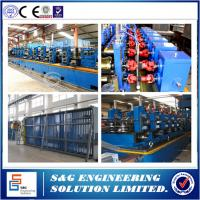 Quality High Speed 20 - 90M / Min Welded Pipe Machine / Steel Tube Machine 4 - 8M Length for sale