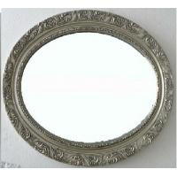 Wholesale antique silver oval framed bathroom mirror,wood oval wall mirror from china suppliers