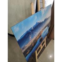 Wholesale Digital Printed Bright Color Brushed Aluminum Panels 3mm / 4mm PET Or PVDF Coating Aluminum Signage Board from china suppliers