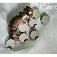 Wholesale Round Piezo Ceramic Element Sheet Positive and Negative pole in one Side from china suppliers