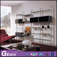 Wholesale Modern household bedroom wall wardrobe designs laminate walk in wardrobe pole system from china suppliers