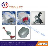 Wholesale Zinc Alloy Shopping Trolley Spare Parts Shopping Trolley Lock from china suppliers