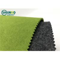 China 2mm / 3mm Colorful Needle Punch Nonwoven Polyester Felt Fabric Roll For Embroidery Patch on sale