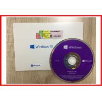 Wholesale 100% work Windows 10 Pro Retail Box 64-bit SP1 Full Version DVD + License Product Key from china suppliers