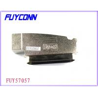 China Amphenol 957 100 Pin Centronics Connector Male Plug IDC Type With Zinc Cover on sale