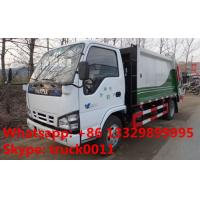 Wholesale Japanese brand ISUZU LHD 4*2 190hp 10m3 garbage compactor truck for sale, hot sale ISUZU refuse collection truck from china suppliers