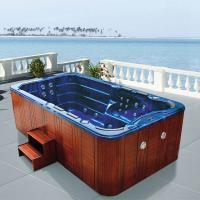 Wholesale Monalisa M-3337 swimming pool SPA hot tub USA Balboa intelligent swim pool Western style hot tub SPA outdoor mass from china suppliers