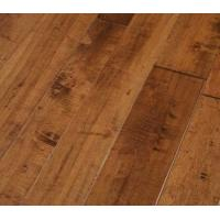Wholesale Chinese Maple Engineered Wood Flooring, handscraped & distressed surface, American popular color from china suppliers
